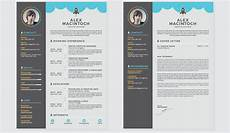 Creative Word Cv Templates Free And Beautifully Designed Resume Templates Designmodo