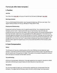 Skills To Offer An Employer Job Offer Letter From Employer To Employee Top Form