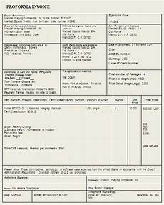 Proforma Invoice Sample Word Proforma Invoice Template Sample Format Example With