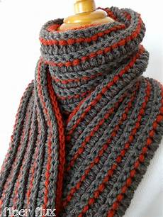fiber flux free crochet pattern the every scarf