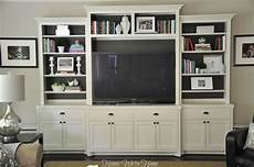 painted media cabinet bookshelf styling honey we re home
