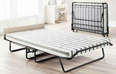 jaybe supreme folding guest bed with mattress castors