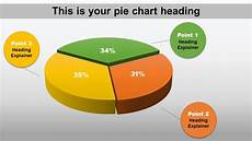 Make 3d Pie Chart 3 Piece 3d Pie Chart Animated Powerpoint Slide Youtube