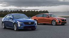cadillac ct4 2020 2020 cadillac ct5 v ct4 v revealed with less power fewer