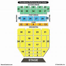 Providence Performing Arts Center Seating Chart Seating