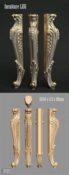 On Sofa Legs 3d Image by A1146 Furniture Leg 3d Model For Cnc Router Cnc Model