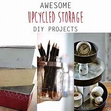 awesome upcycled storage diy projects the cottage market