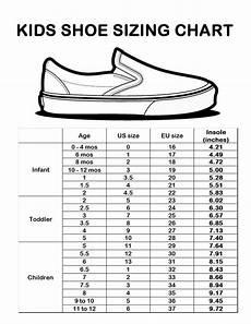Boys Shoe Size Chart Inches Kids Shoe Size Chart Sizing Chart Kids Fashion