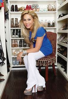 Debbie Austin Walk In The Light Adrienne Maloof S Shoe Habit Has Gone To The Next Level