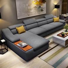 wohnzimmer m 246 bel moderne l geformte stoff ecke schnittsofa