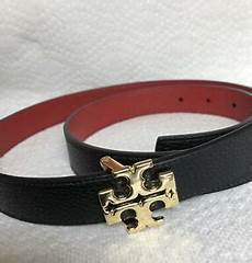 Tory Burch Belt Size Chart Tory Burch Black Amp Red Reversible Belt Size M Ebay