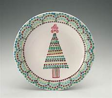 Christmas Pottery Designs Beautiful Christmas Tree Plate By Owlcreekceramics With