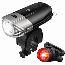 Electron Led Bike Lights Taotronics Tt Hp007 Led Bike Lights Front Amp Back