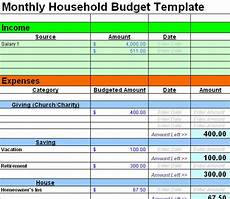 Budget Expenses Spreadsheet Free Sample Budget Spreadsheet Leave Debt Behind