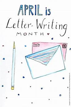 Letter Riting April Is Letter Writing Month Jennie Moraitis