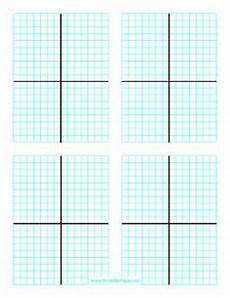 Algebra 2 Graph Paper Perfect For Multiple Math Problems There Are Four 15x15