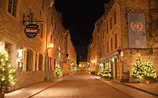 City Lights Palastic Wallpaper Quebec City Christmas Day Montreal Night
