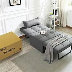 vonanda sofa bed convertible chair 4 in 1 multi function