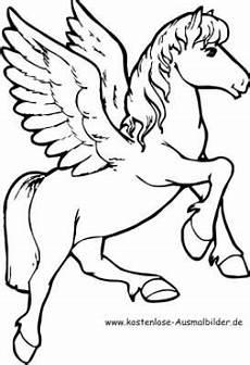 malvorlage pegasus pferd malvorlage einhorn pferd