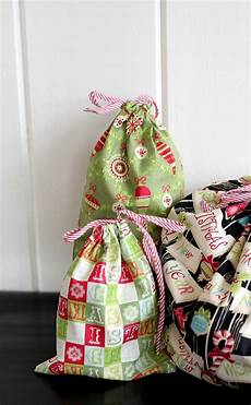 reusable fabric gift bags from the cottage skip to