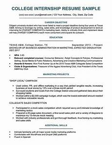 College Student Resume Example College Student Resume Sample Amp Writing Tips Resume