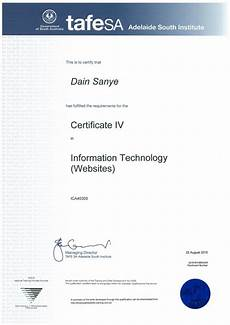 Information Technology Certifications Ica40305 Certificate Iv In Information Technology