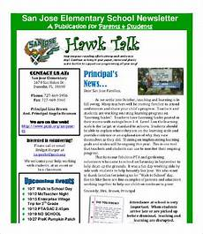Newsletter Examples For Schools 20 Best Newsletter Formats Free Word Pdf Documents