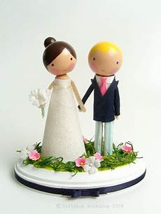 adorable cake toppers by lollipop workshop little flamingo