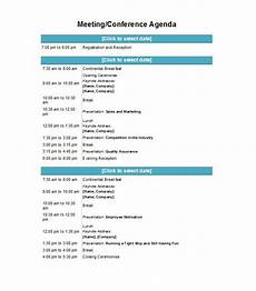 Business Trip Agenda Template 51 Effective Meeting Agenda Templates Free Template