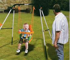toddler swing set easy storage folding portable baby toddler child indoor