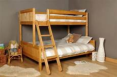 3ft 4ft wooden bunk bed pine white or grey