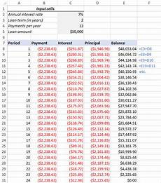 Excel Loan Amortization Schedule In Months Create A Loan Amortization Schedule In Excel With Extra