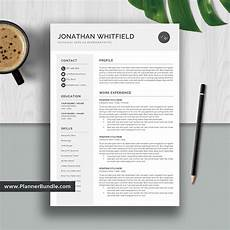 Word Professional Templates Professional Resume Template Word Job Cv Template