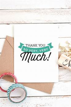 Make Thank You Cards Free Free Printable Thank You Cards
