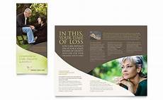 Memorial Pamphlet Template Free Memorial Amp Funeral Program Brochure Template Design