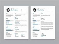 Resume Template Illustrator Free Simple Illustrator Resume Template With Cover Letter