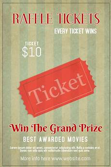 Event Raffle Tickets Raffle Ticket Bingo Event Poster Template Postermywall