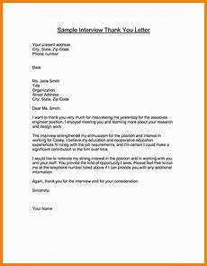Examples Of Thank You Letters After An Interview 12 Strong Thank You Letter After Interview Radaircars Com
