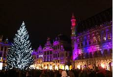 Brussels Christmas Market Light Show Magical Christmas Holiday Ideas Around The World