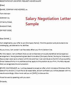 Salary Negotiation Letters November 2012