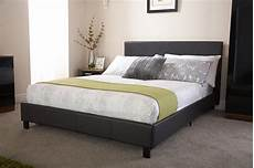 3ft faux leather single bed frame with headboard in white