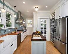 pictures of kitchen islands in small kitchens 6 small kitchens with islands northshore magazine