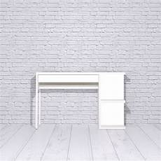 micke desk with shelves panyl