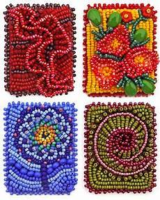 bead embroidery patterns free technique sles bead