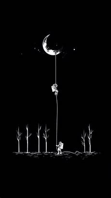 Wallpaper Iphone Black And White by Tap And Get The Free App Creative Space Astronauts