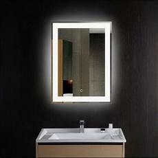 Bathroom Over Mirror Led Lights Led Lights Wall Mounted Bathroom Lighted Mirror Vanity