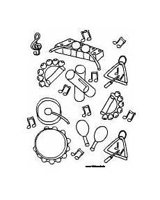 ausmalbilder instrumente ausmalbilder