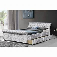 cherry tree furniture maia luxurious silver crushed velvet