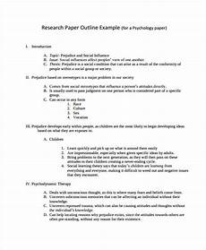 Research Paper Format Template 22 Research Paper Templates In Pdf Free Amp Premium Templates