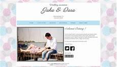 tema undangan pernikahan online undangan pernikahan online desain tema undangan